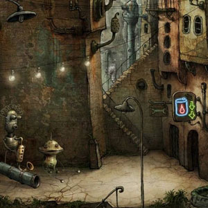 Machinarium Jeu de réfléxion