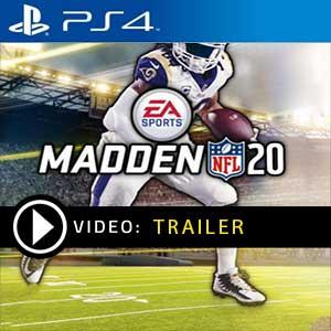 Madden NFL 20 PS4 en boîte ou à télécharger