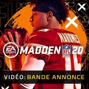 Madden NFL 20 Bande-annonce Vidéo
