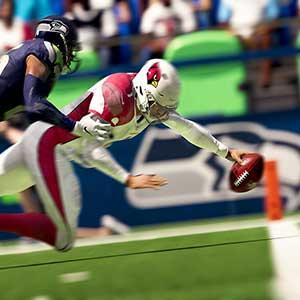 Madden NFL 21 touchdown