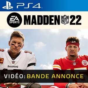 Madden NFL 22 PS4 Bande-annonce vidéo
