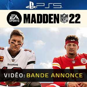 Madden NFL 22 PS5 Bande-annonce vidéo