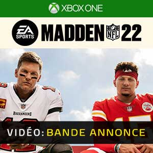 Madden NFL 22 Xbox One Bande-annonce vidéo