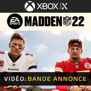 Madden NFL 22 Xbox Series X Bande-annonce vidéo