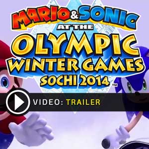 Mario Sonic at the Sochi 2014 Olympic Winter Games Nintendo Wii U en boîte ou à télécharger