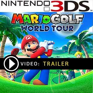 Mario Golf World Tour Nintendo 3DS en boîte ou à télécharger