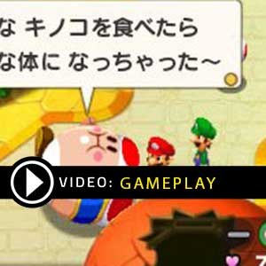 Mario & Luigi Voyage Au Centre De Bowser + L'épopée De Bowser Jr. Nintendo 3DS Gameplay Video
