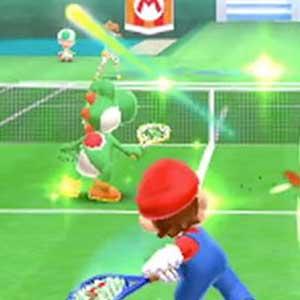 Mario Tennis Open Nintendo 3DS Gameplay