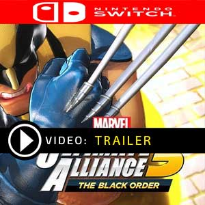 MARVEL ULTIMATE ALLIANCE 3 The Black Order Nintendo Switch en boîte ou à télécharger