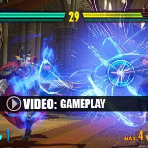 Marvel vs Capcom Infinite Gameplay Video