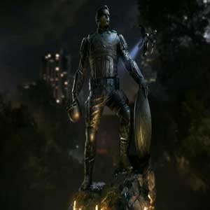 Marvel's La statue de Captain America