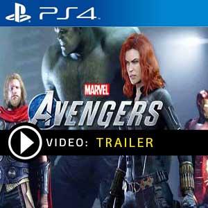 Marvels Avengers Vidéo de la bande annonce