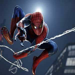 Marvel's Spider-Man Remastered PS5 Web Swinging