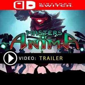Masters of Anima Nintendo Switch en boîte ou à télécharger