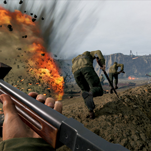 Medal of Honor Above and Beyond VR tranchée