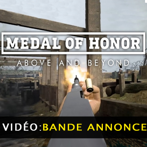 Medal of Honor Above and Beyond VR bande-annonce vidéo