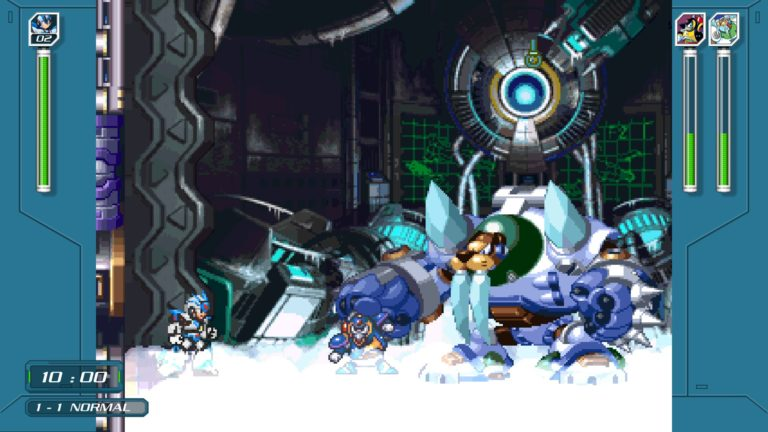 mega Man X Legacy Collection: X Challenge