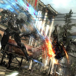 Metal Gear Rising Revengeance - Combat