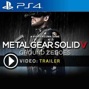 Metal Gear Solid 5 Ground Zeroes PS4 en boîte ou à télécharger