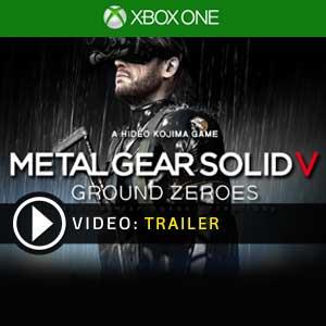 Metal Gear Solid 5 Ground Zeroes Xbox one en boîte ou à télécharger