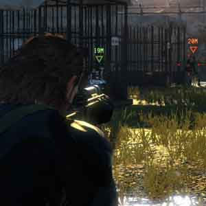 Metal Gear Solid 5 Ground Zeroes PS4 : Cible verrouillé