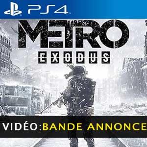 Metro Exodus PS4 Bande-annonce Vidéo