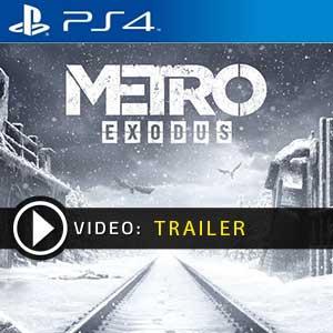 Metro Exodus PS4 en boîte ou à télécharger