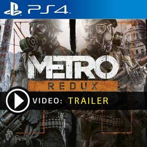 Metro Redux PS4 en boîte ou à télécharger