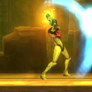 Metroid Samus bouclier de lumière