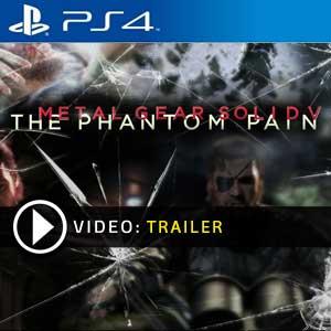 Metal Gear Solid 5 The Phantom Pain PS4 en boîte ou à télécharger
