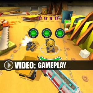 Micro Machines World Series Gameplay Video