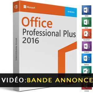 Microsoft Office 2016 Professional Plus vidéo de la bande-annonce