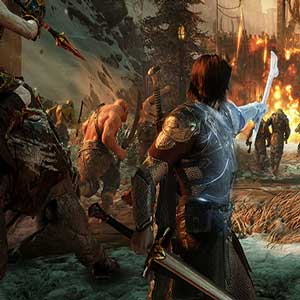 Middle-Earth Shadow of War Talion et son armée