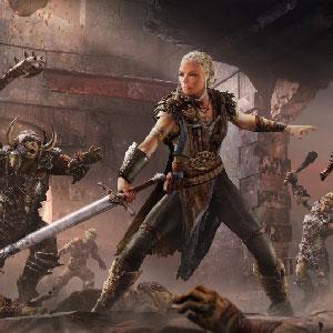 Middle-Earth Shadow of War Sauron et son armée