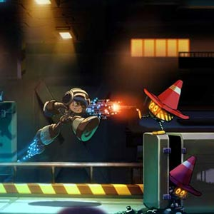 MIGHTY NO 9 PS4 Personnage