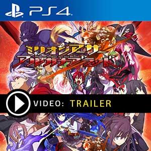 Million Arthur Arcana Blood PS4 en boîte ou à télécharger