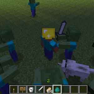 Minecraft PS4 Lutter contre Zombies