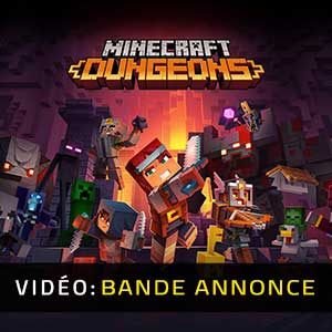 Minecraft Dungeons Bande-annonce Vidéo