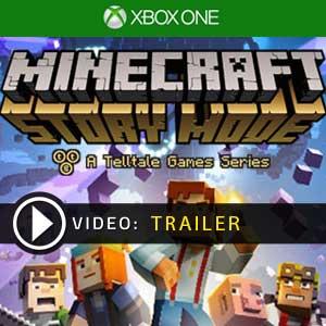 Minecraft Story Mode Xbox One en boîte ou à télécharger
