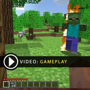 Minecraft Xbox One Gameplay Video