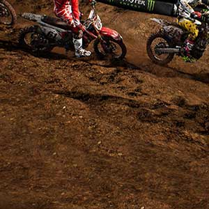 Supercross gameplay sans fin