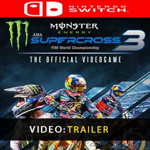 Monster Energy Supercross The Official Videogame 3 Nintendo Switch Prices Digital or Box Edition