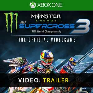 Monster Energy Supercross The Official Videogame 3 Xbox One Prices Digital or Box Edition