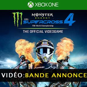 Monster Energy Supercross 4 Vidéo de la bande annonce