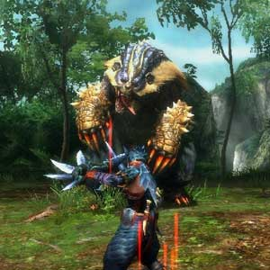 Monster Hunter 3 Ultimate Nintendo Wii U Combat