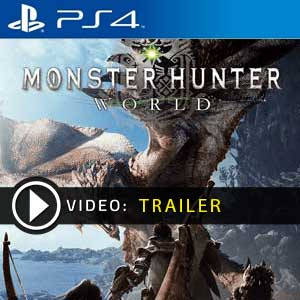 Acheter Monster Hunter World PS4 Code Comparateur Prix