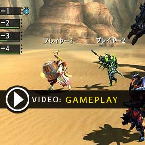 Monster Hunter Gameplay Video