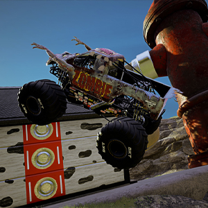 Monster Jam Steel Titans 2 Camion monstre zombie