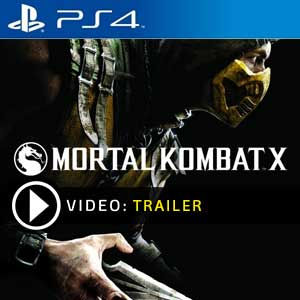 Mortal Kombat X PS4 en boîte ou à télécharger