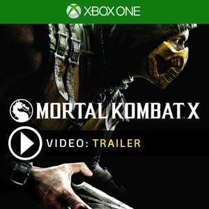 Mortal Kombat X Xbox One en boîte ou à télécharger